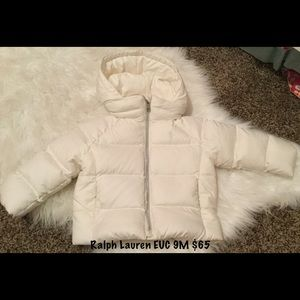 Heavy winter Ralph Lauren jacket!